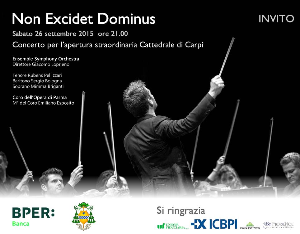 Non Excidet Dominus – Cattedrale di Carpi – 26 settembre 2015