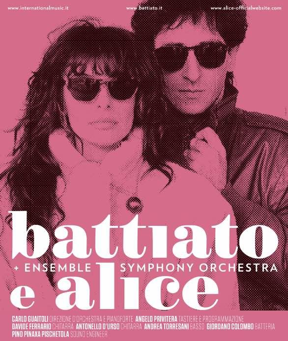 Battiato e Alice & Ensemble Symphony Orchestra- DATE!