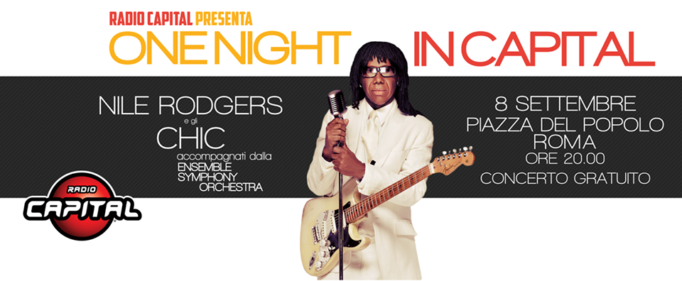 ONE NIGHT IN CAPITAL – 8 settembre 2016