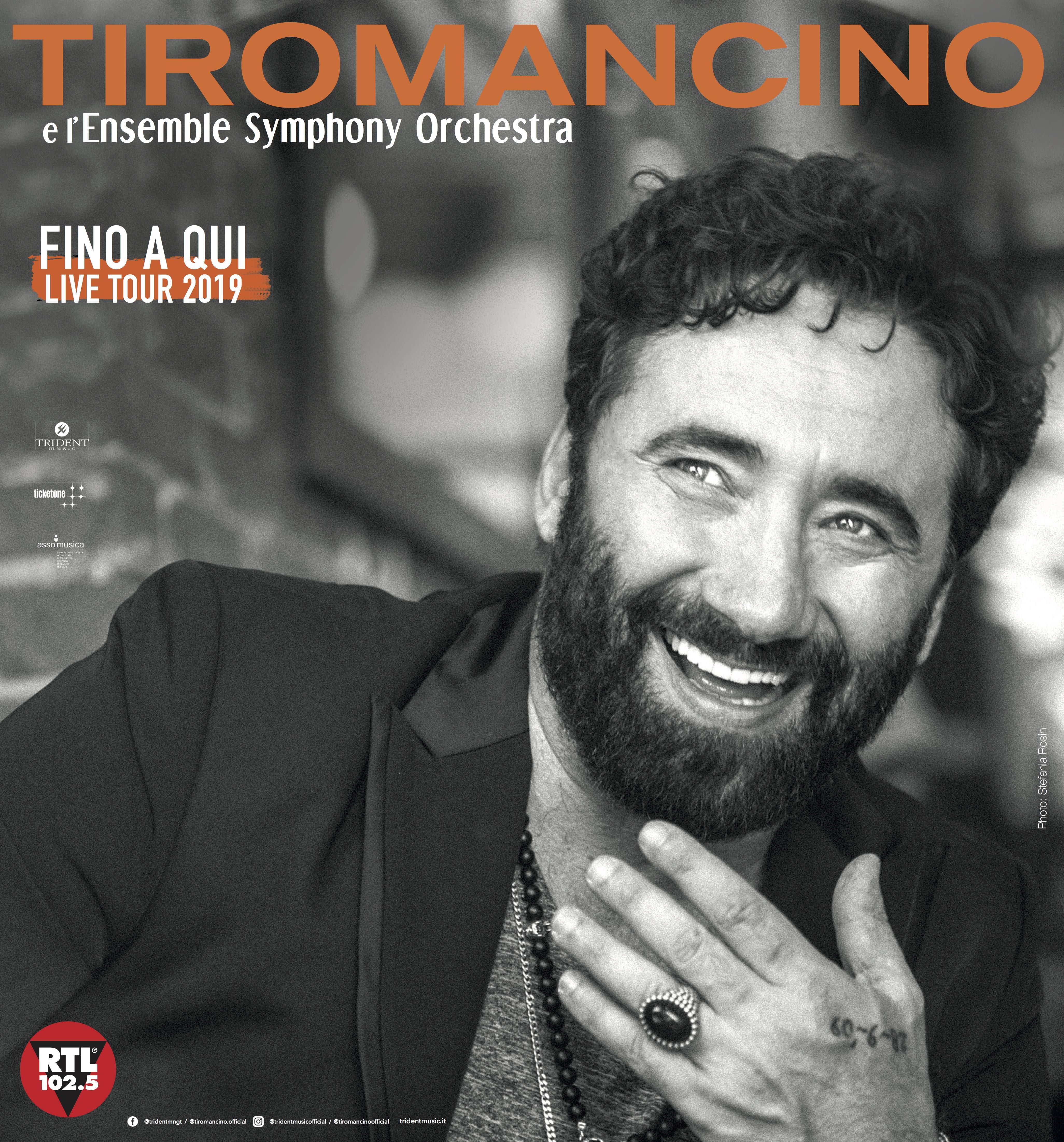 Parco di Belloluogo, Lecce – 01 Agosto 2019 – Tiromancino e l'Ensemble Symphony Orchestra