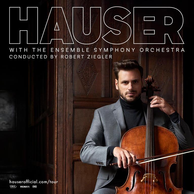 Teatro degli Arcimboldi, Milano – 15 Maggio 2020 – Hauser with the Ensemble Symphony Orchestra